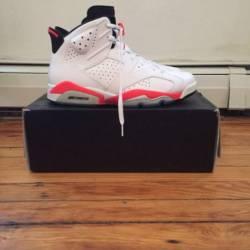 Jordan 6 retro infrared white ...