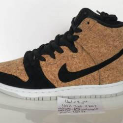Nike dunk high premium sb cork