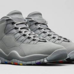 Air jordan 10 cool grey cool g...