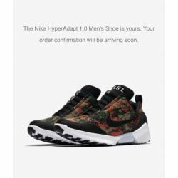 Nike hyperadapt 1.0 team orang...