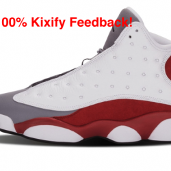 Air jordan 13 retro cement gre...
