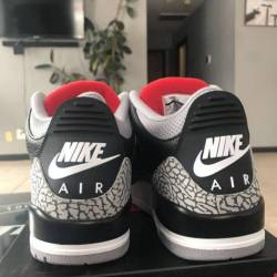 Jordan retro 3 black cement