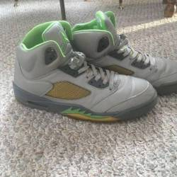 "Nike air jordan 5 retro v ""gre..."