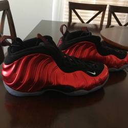 Nike air foamposite one metall...