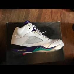 Air jordan 5 retro grape 2012