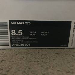 Nike air max 270 black univers...