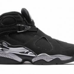 Nike air jordan 8 retro chrome...