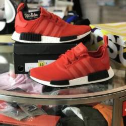 Men's adidas nmd boost red c...