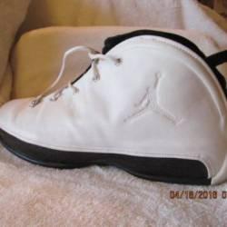 Nike air jordan 18.5 white/bla...