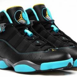 Nike air jordan six 6 rings sz...