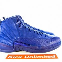 Air jordan 12 retro blue suede...