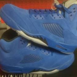 Nike air jordan retro v 5 blue...