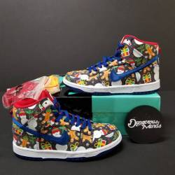 Concepts x nike sb dunk high g...