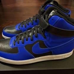 Nike air force 1 high id black...