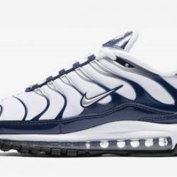 Nike air max plus 97 navy silv...