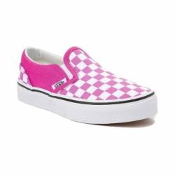 New youth tween vans slip on c...