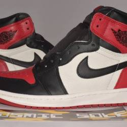 Nike air jordan 1 retro bred t...