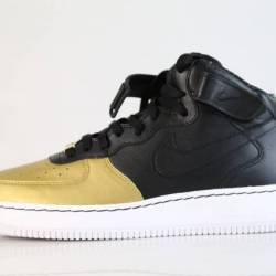 Nike id air force 1 mid black ...