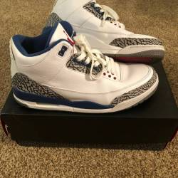 Nike air jordan 3 retro true b...