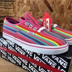 Vans authentic lo pro (rainbow...
