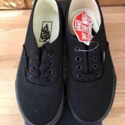 Vans authentic - black/ black ...