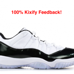 Air jordan 11 low iridescent e...