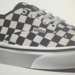 New vans authentic checker che...