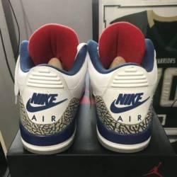 Jordan 3 true blue, jordan 4 o...