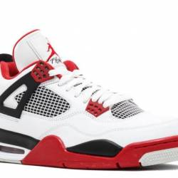 Air jordan 4 retro fire red 20...