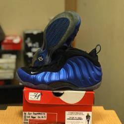 Nike air foamposite one royal ...