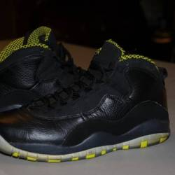Nike air jordan x 10 venom gre...