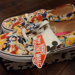 Vans x disney multi princess p...