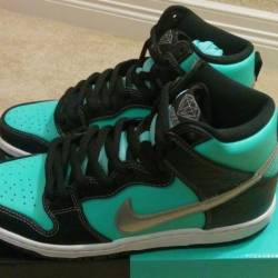 Nike dunk high hi sb x diamond...