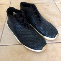 Jordan future leather black gu...
