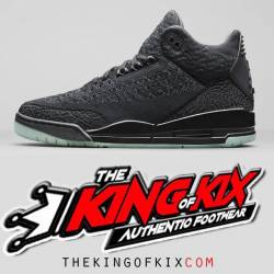 Air jordan 3 green glow black ...