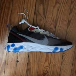 Nike react element 87 dark grey