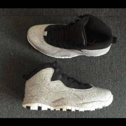 Air jordan 10 cement