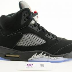 Air jordan 5 retro black metal...
