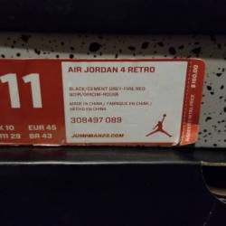 Air jordan 4 - bred very good ...
