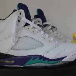 Air jordan 5 retro grape sz 10...