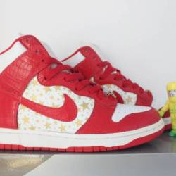 Nike sb red supreme high sz 10...