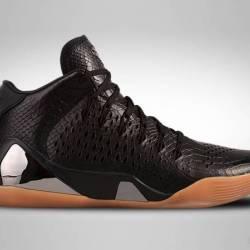 Nike kobe 9 mid ext qs black l...