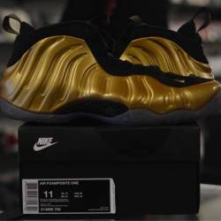 Nike foamposite metallic gold
