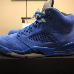 "Air jordan retro 5 ""blue sue..."