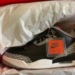 Jordan retro 3 - black cement