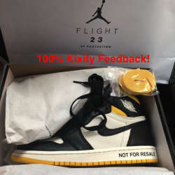 Air jordan 1 not for resale no...
