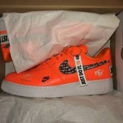 Nike air force 1 just do it sz 14