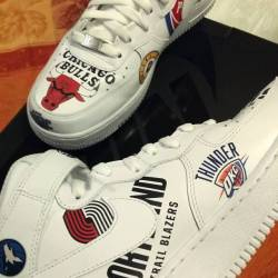 Nike x supreme x nba air force...