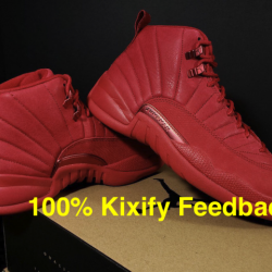 Air jordan 12 bulls gym red