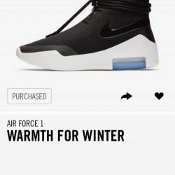 Nike air fear of god shoot aro...